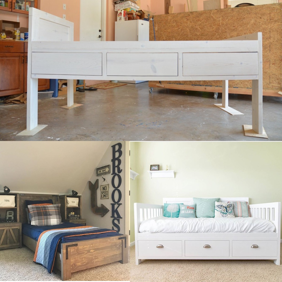Ana White Xl Twin Storage Bed Diy Projects