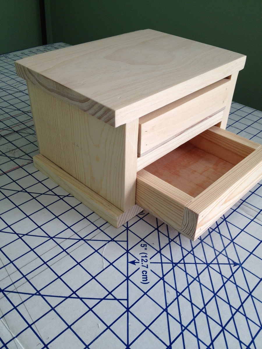 Ana White Easy Jewelry Box Diy Projects