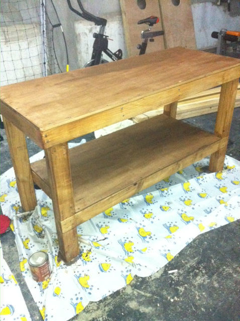 Ana White Workbench To Get The Job Done Diy Projects