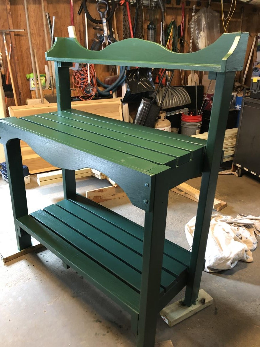 Wood Stain Colors On Pine Farmhouse Table