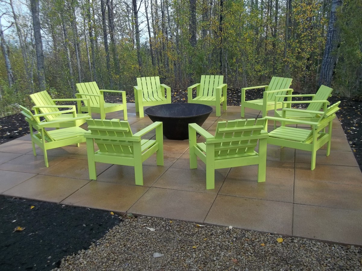 Simple Outdoor Chairs For The Firepit Ana White