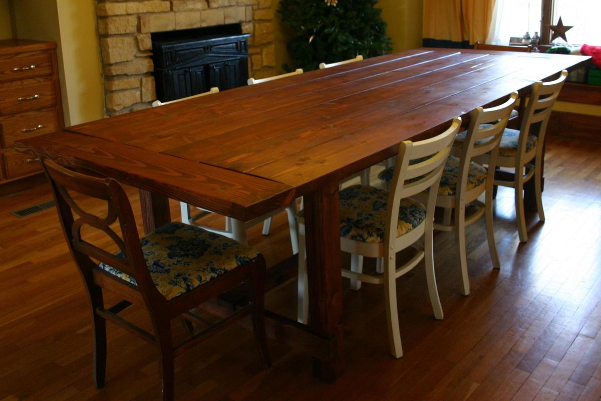 Ana white my first building project ever thanks ana - Kitchen table building plans ...