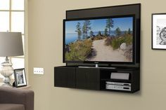 Diy Wall Mounted Floating Media Cabinet By Build Something