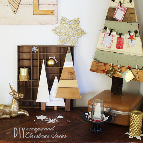 ana white diy wood pallet christmas tree feature from saved by love creations diy projects - Diy Wood Christmas Decorations
