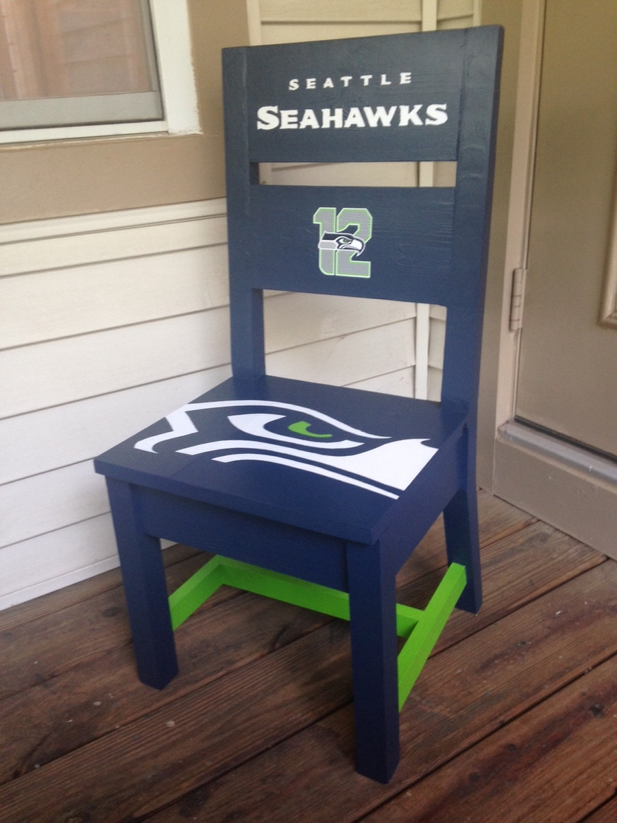 Ana White Seattle Seahawks Kids Chair Diy Projects