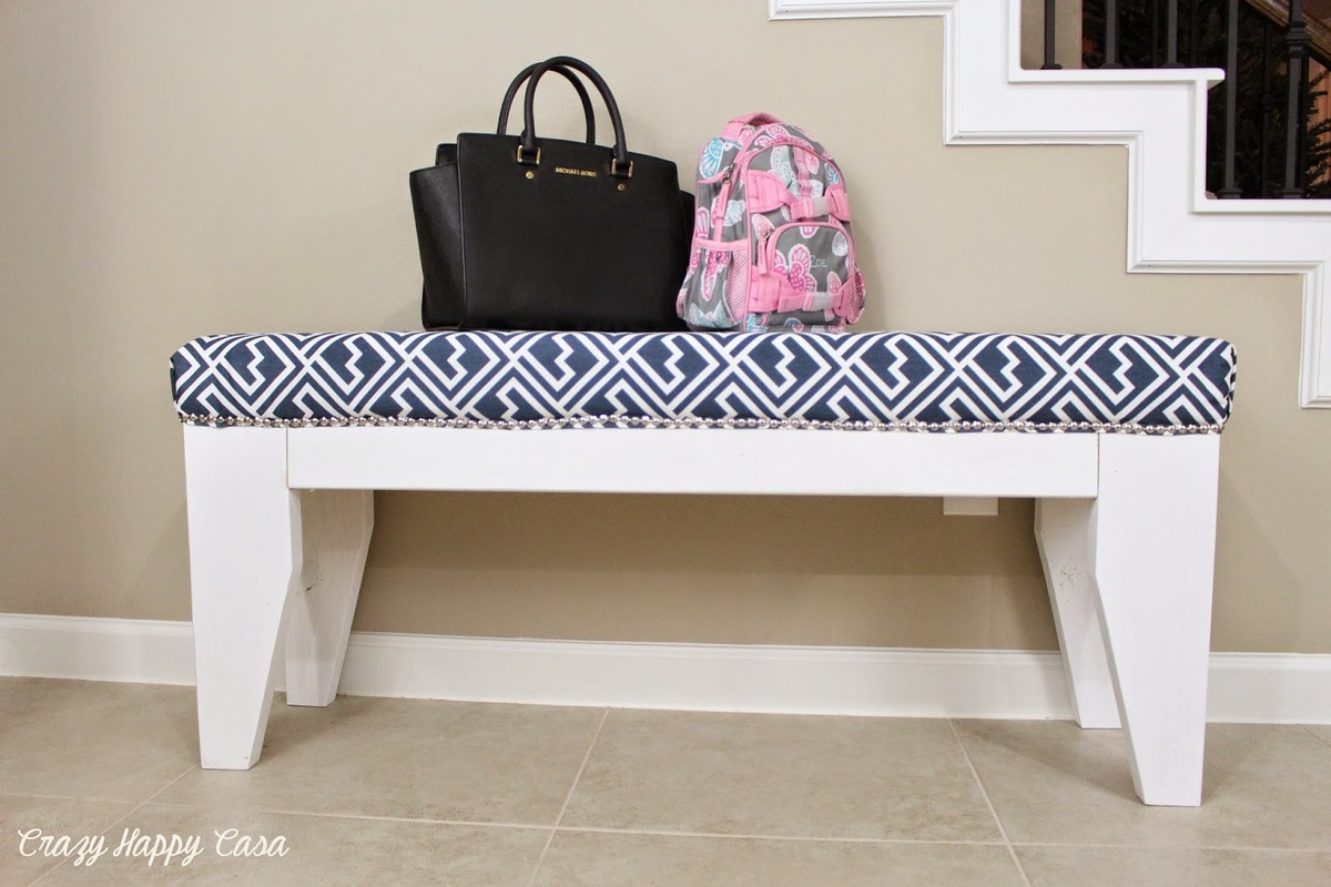 Ana White Diy Upholstered Bench Diy Projects