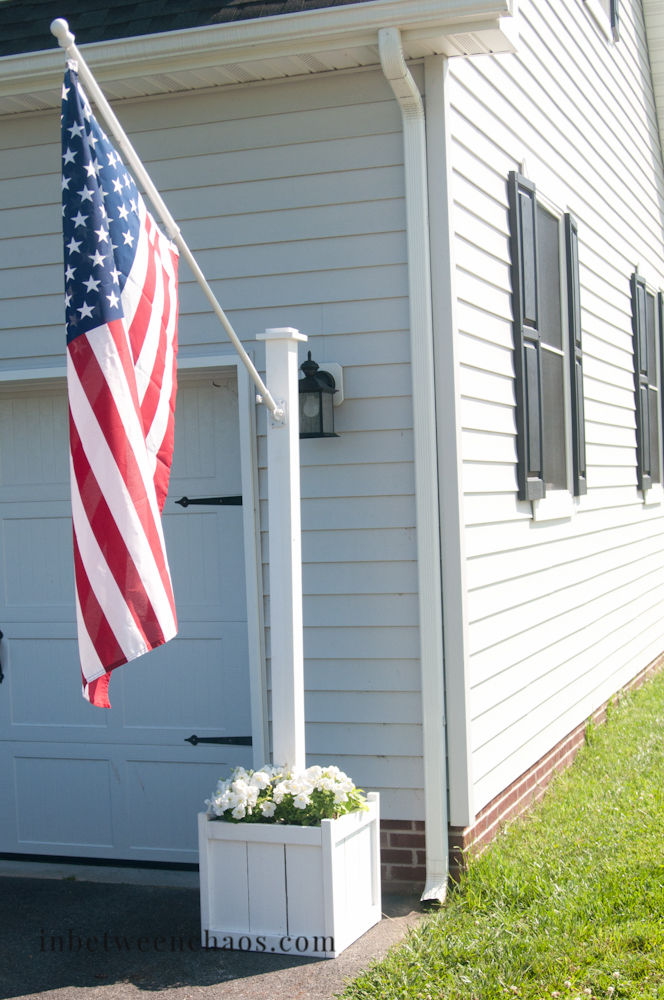 Ana White Flag Pole Planter Diy Projects
