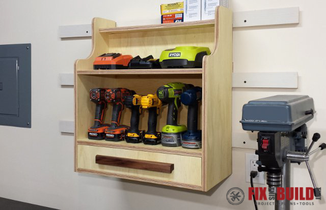 Ana White French Cleat Tool Storage Diy Projects