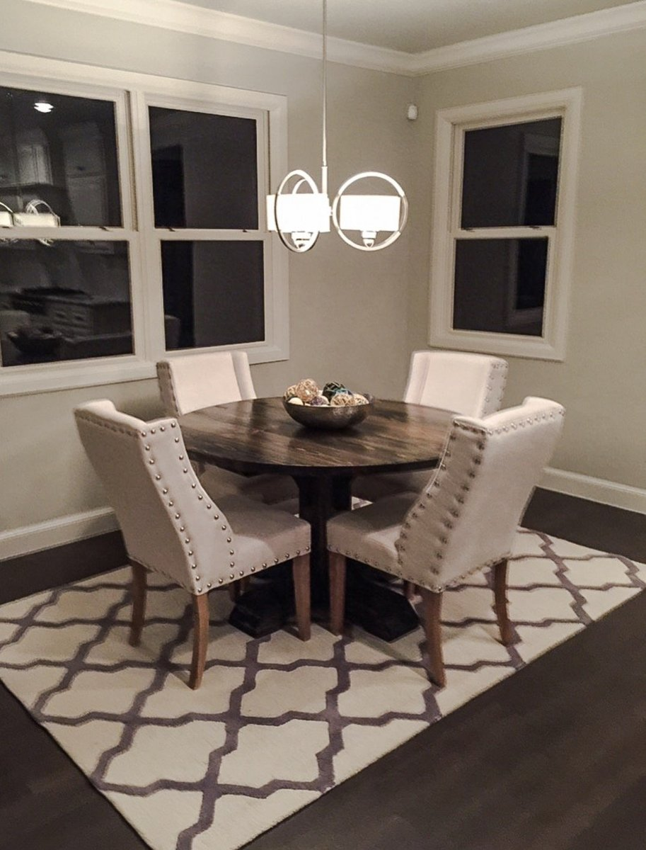 Ana White 54 Quot Round Pedestal Table Diy Projects