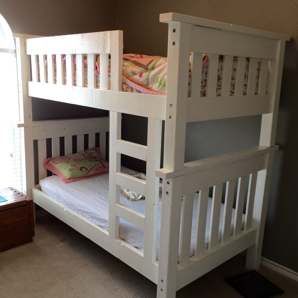 Ana White My Bunk Bed Build Diy Projects