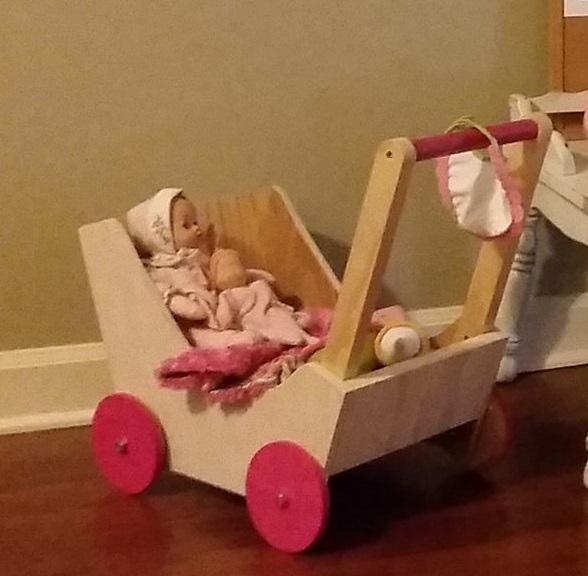 Ana White Doll Pram In Baby S Room Diy Projects