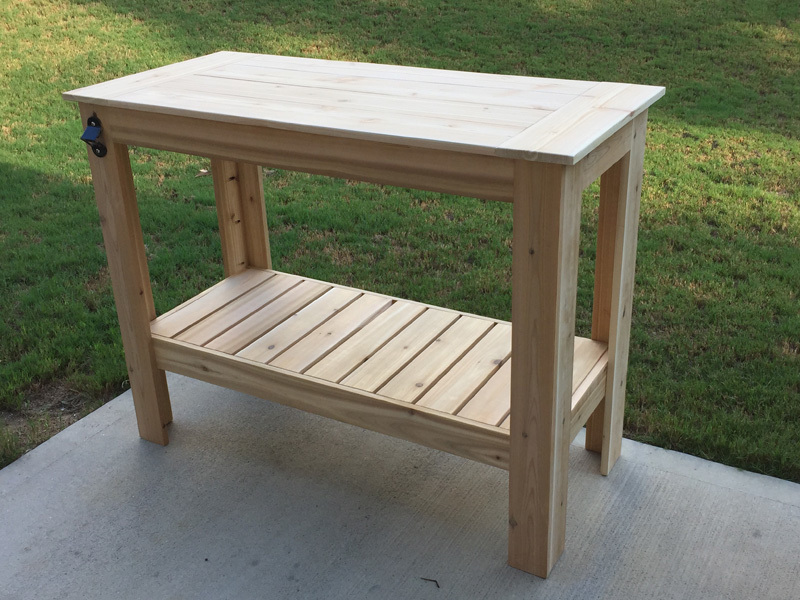 Grilling Table