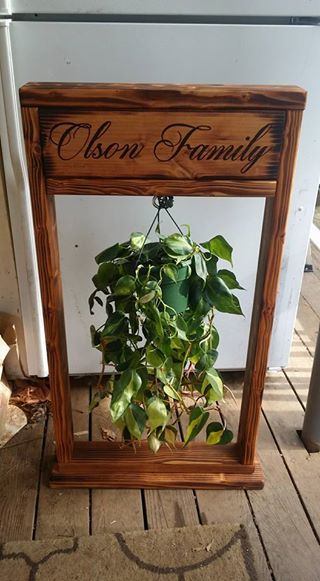 Ana White | Hanging Planter Stand - DIY Projects on Hanging Plants Stand Design  id=12865