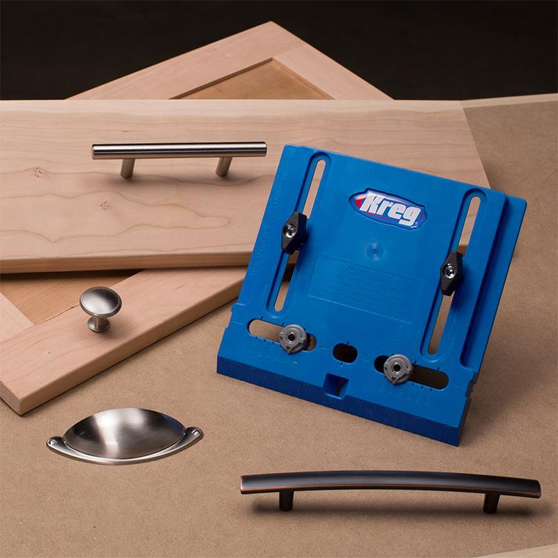 New Kreg Cabinet Hardware Jig Makes Installing Hardware Easier