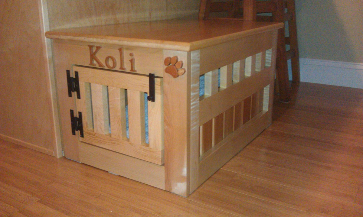 Wooden Dog Kennel End Table Plans Pdf Woodworking