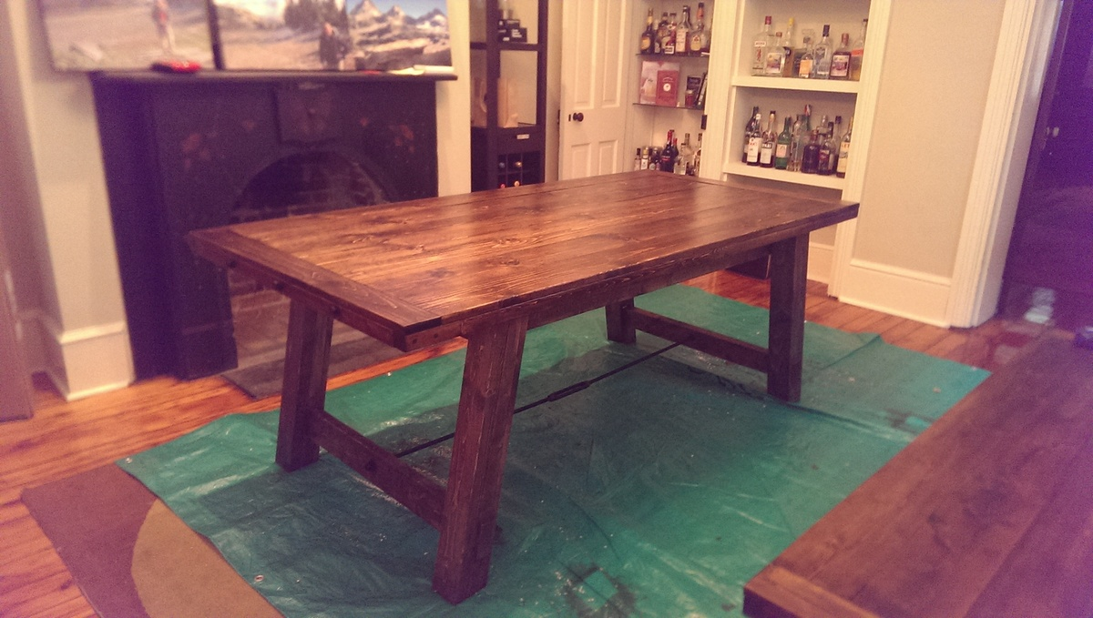 Ana white benchright table and bench diy projects for Ana white table bench