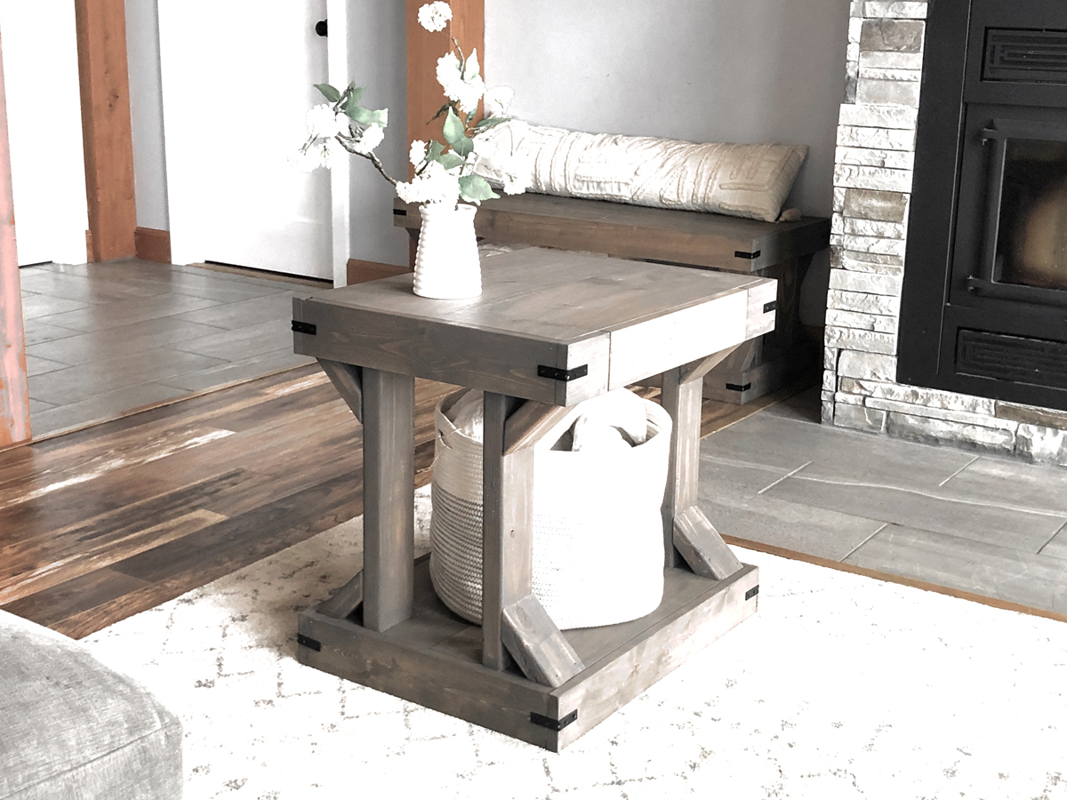 Modern Farmhouse Side table