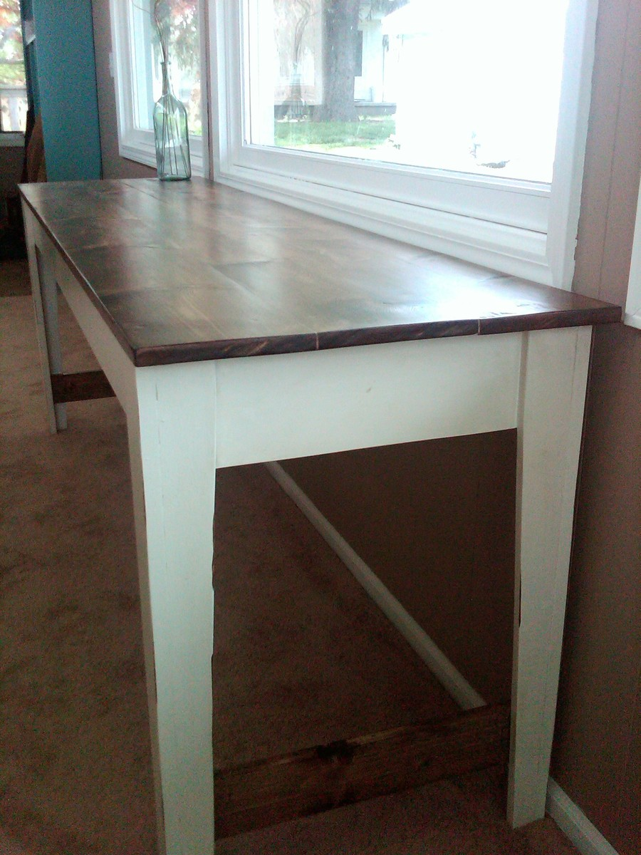 Narrow Farmhouse Table