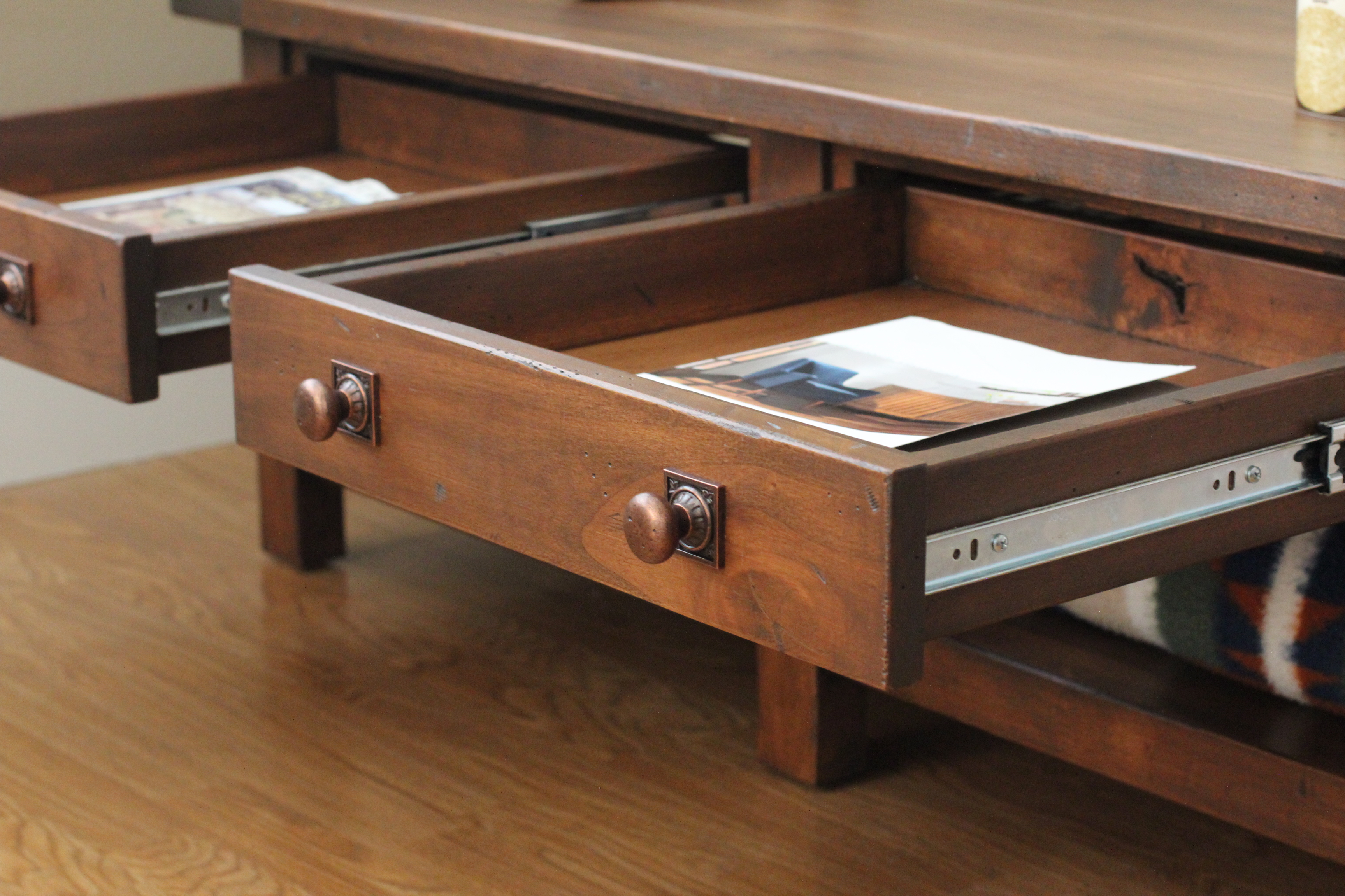Ana White | Benchwright Coffee Table - DIY Projects