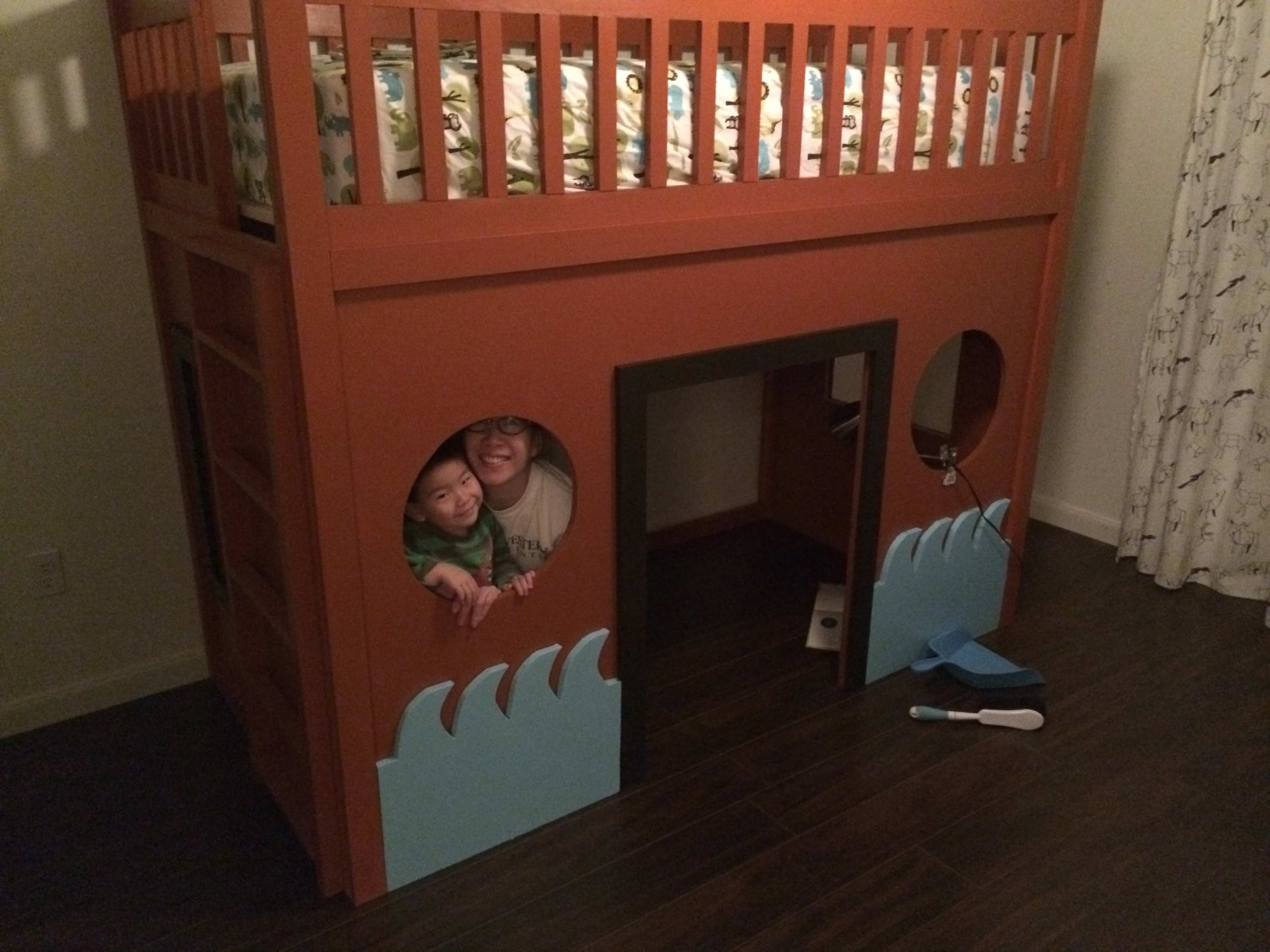 Ana White Pirate Ship Loft Bed Diy Projects
