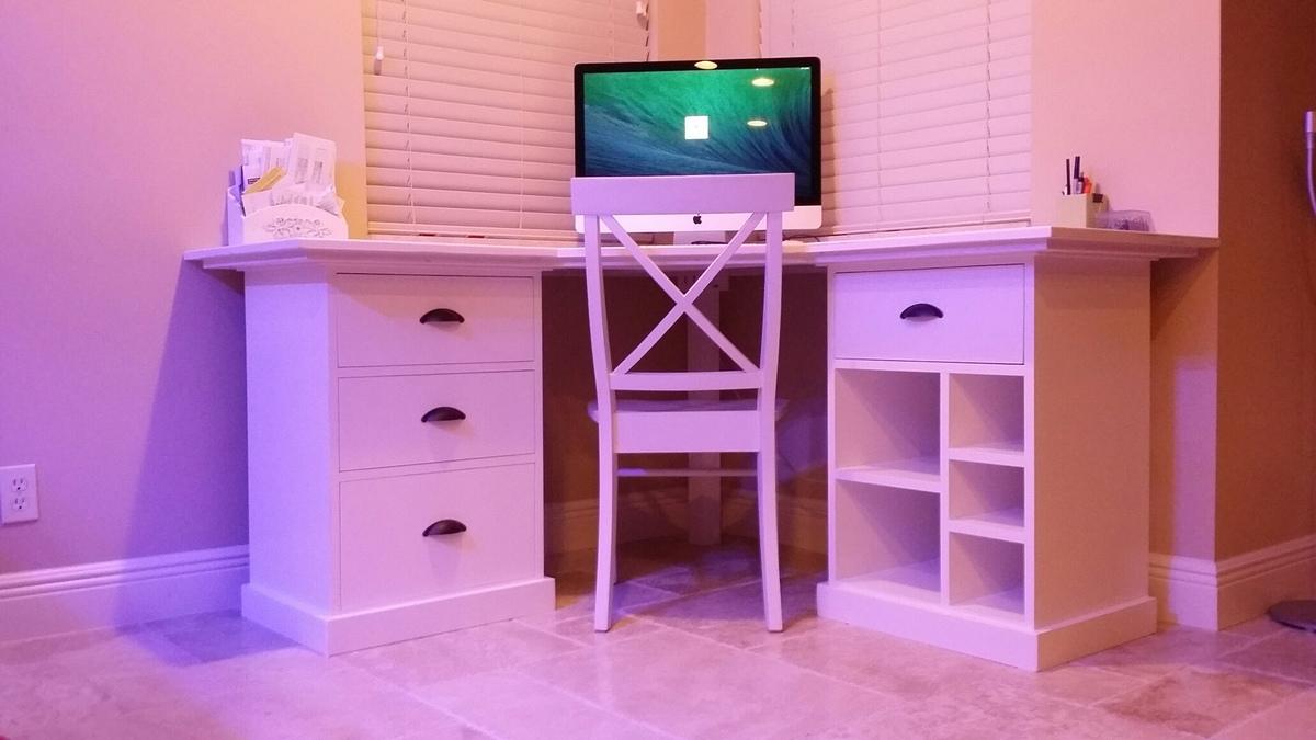 Bedford Modular Desk Ana White