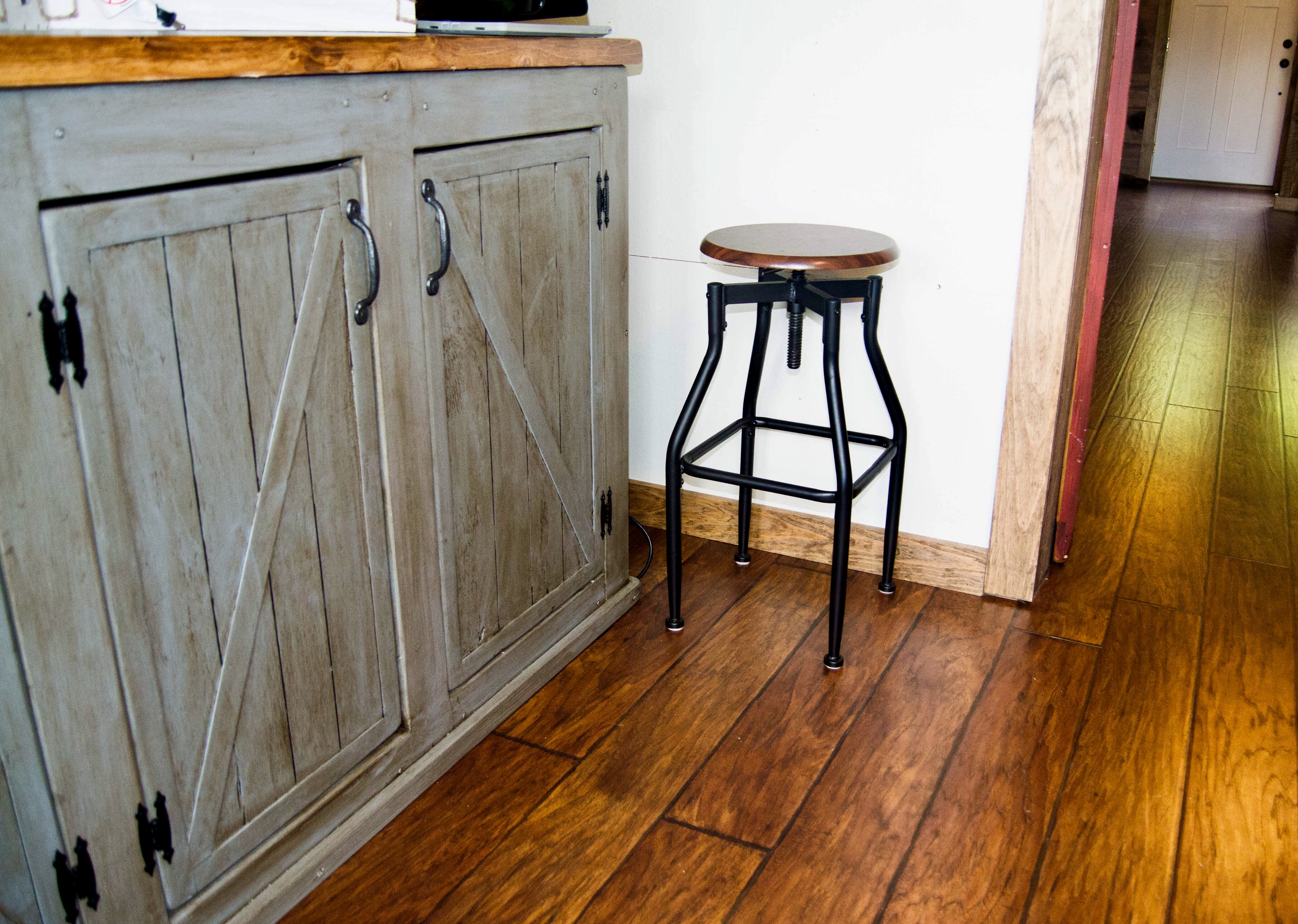 Scred The Sliding Barn Doors Rustic Cabinet Instead