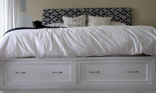 Ana White Drawers For The Queen Sized Storage Bed Diy Projects