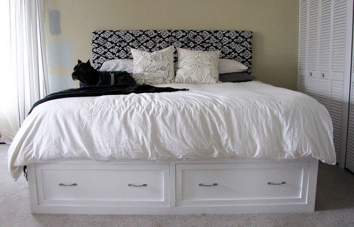 white storage bed frame 2