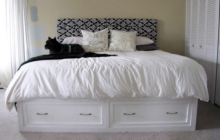 King Storage Bed Ana White