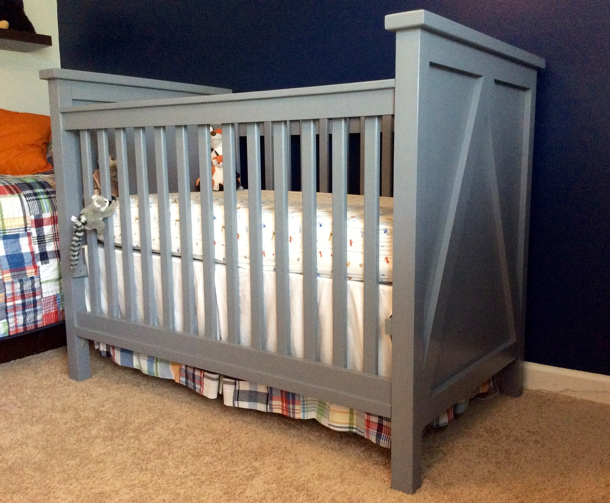 Build baby crib yamsixteen ana white crib for baby 3 diy projects solutioingenieria Choice Image