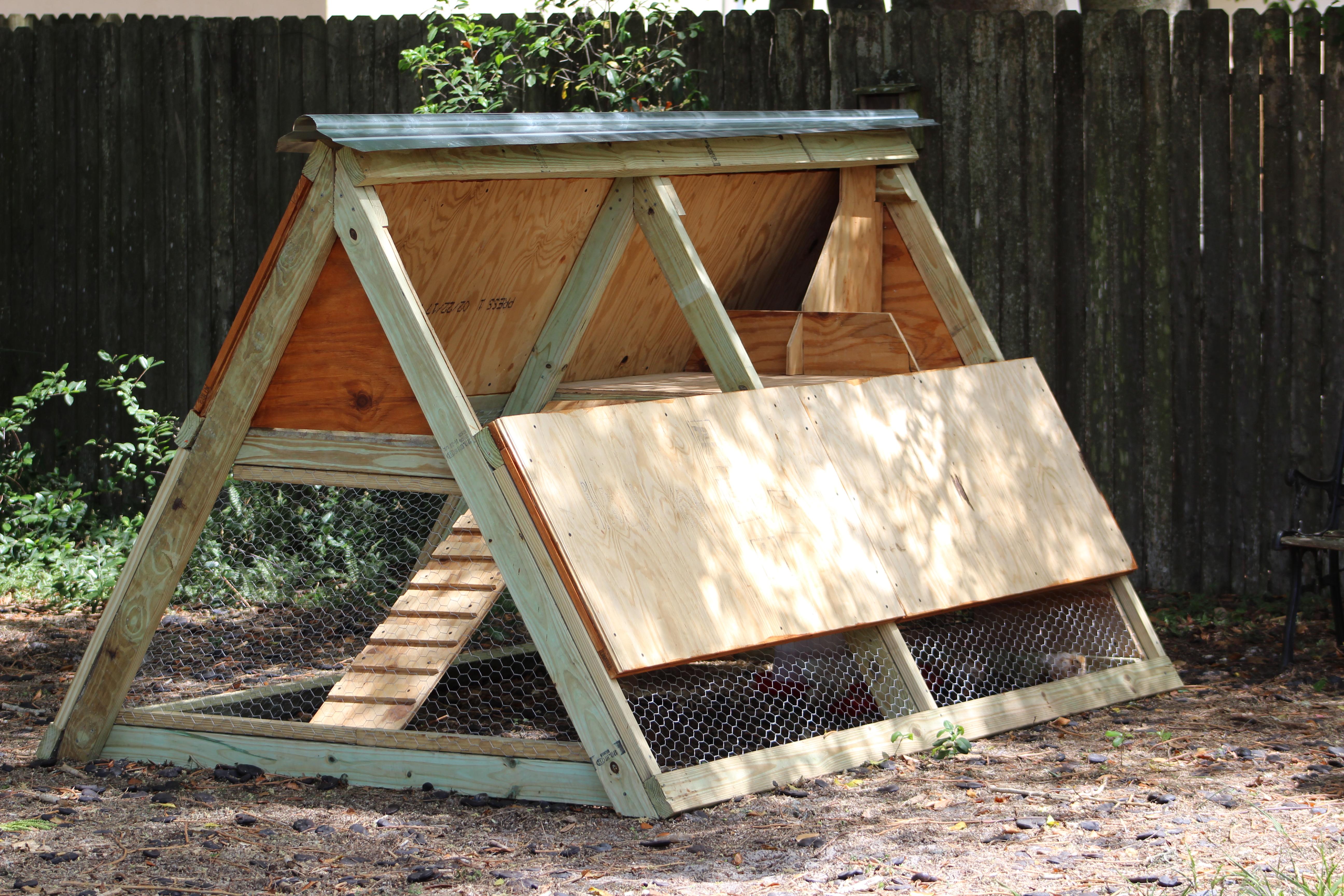 A Frame Chicken Coop Ana White