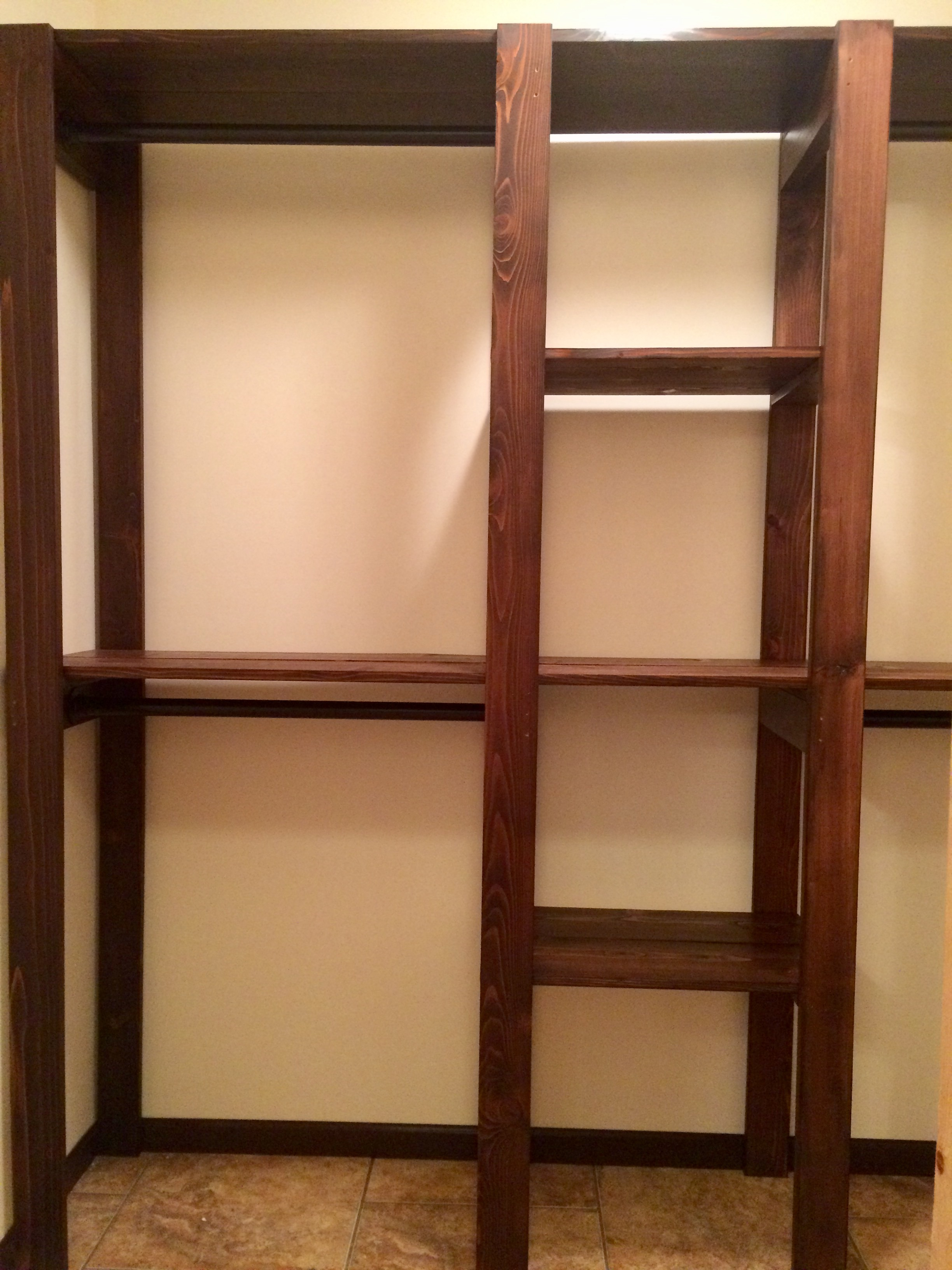 Ana White Industrial Master Closet Diy Projects