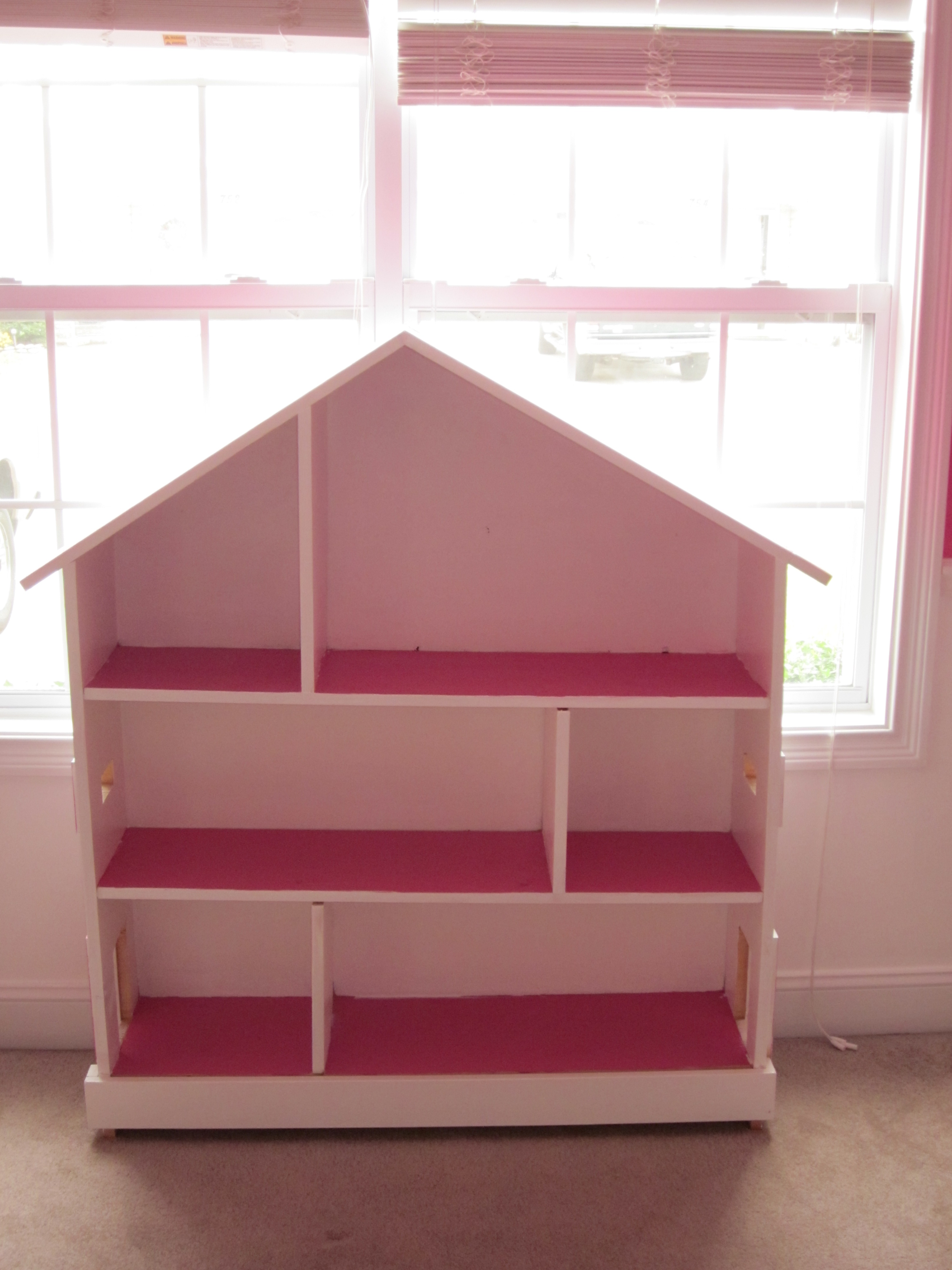 Ana white doll house book shelf diy projects doll house book shelf solutioingenieria Image collections