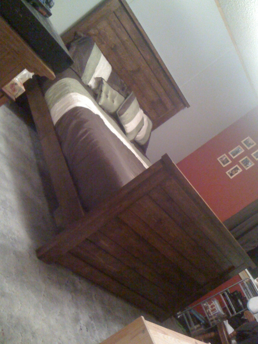 Ana White Reclaimed Wood Queen Bed Diy Projects