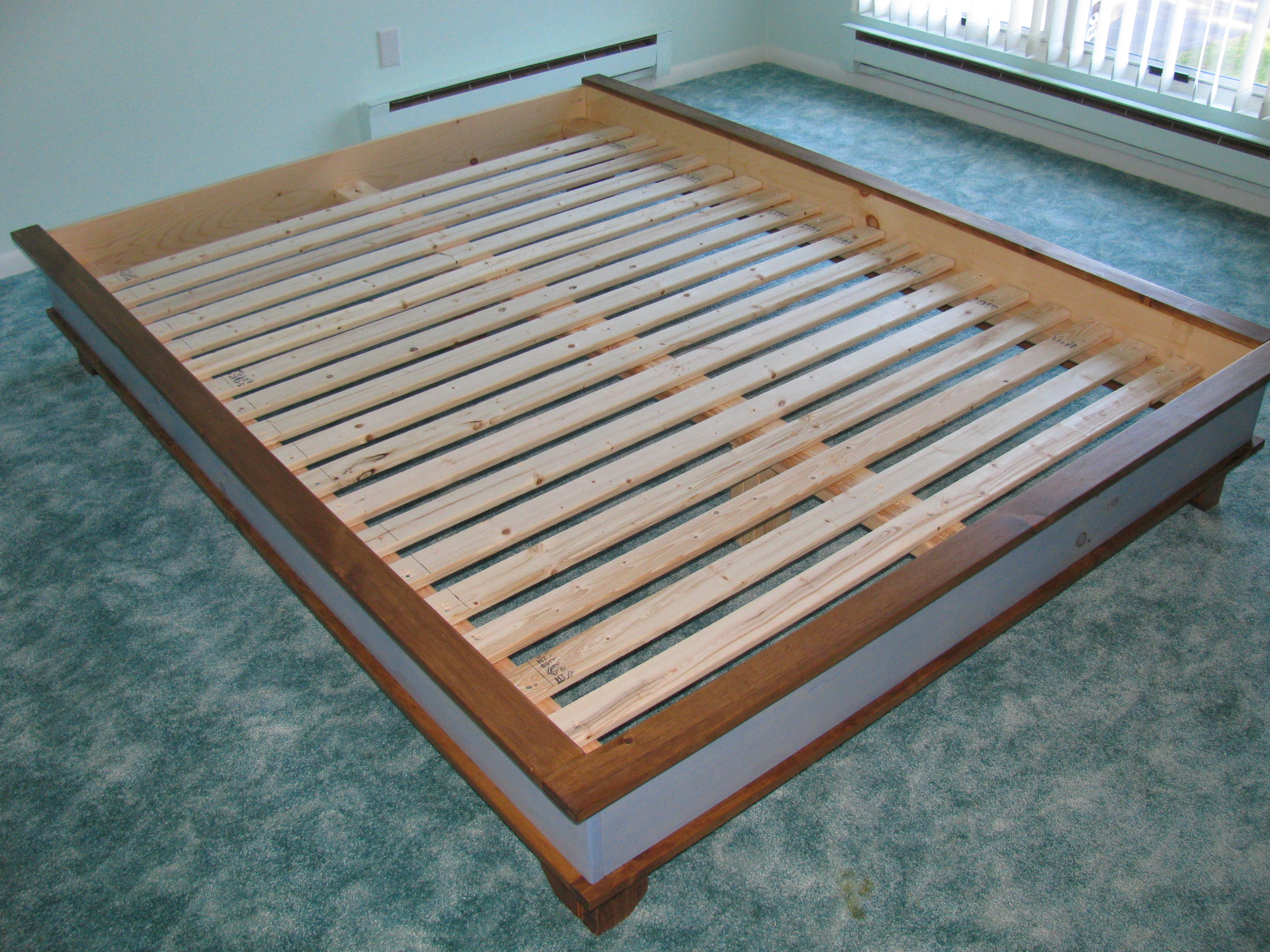 Using Furring Strips For Bed Slats