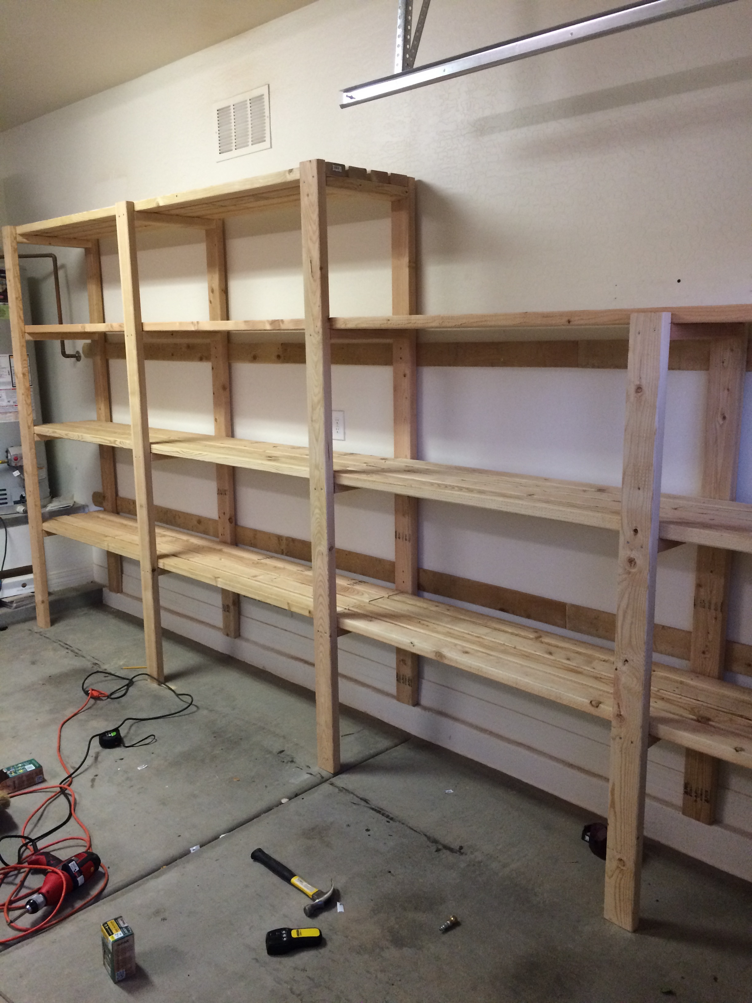 Ana White Loving These Shelves Diy Projects