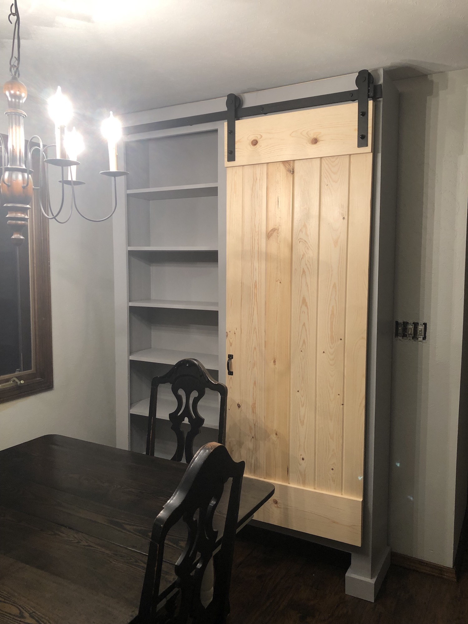 Ana White Free Standing Barn Door Cabinet Diy Projects