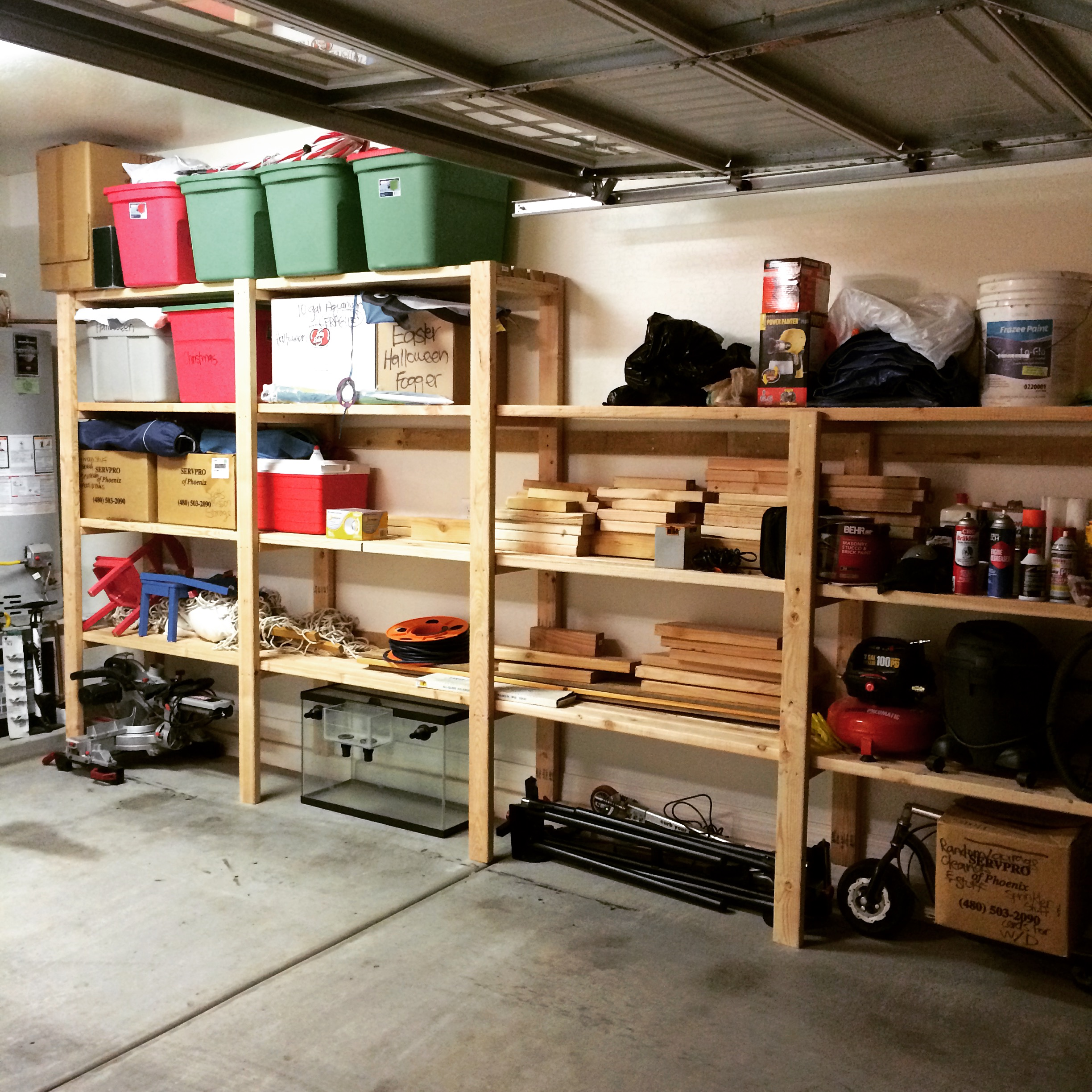 Garage Organization Shelving: DIY Garage Storage Favorite Plans