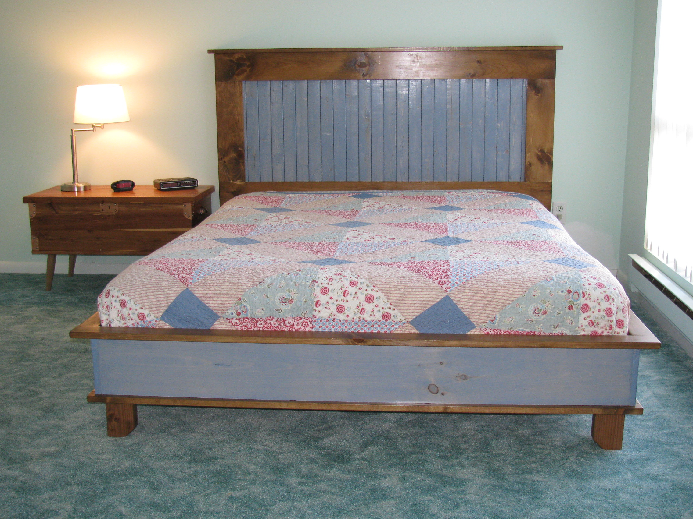 Ana White Platform Bed And Headboard Diy Projects