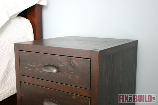 ana white | diy 3 drawer nightstand - diy projects How to Build a Nightstand with Drawers