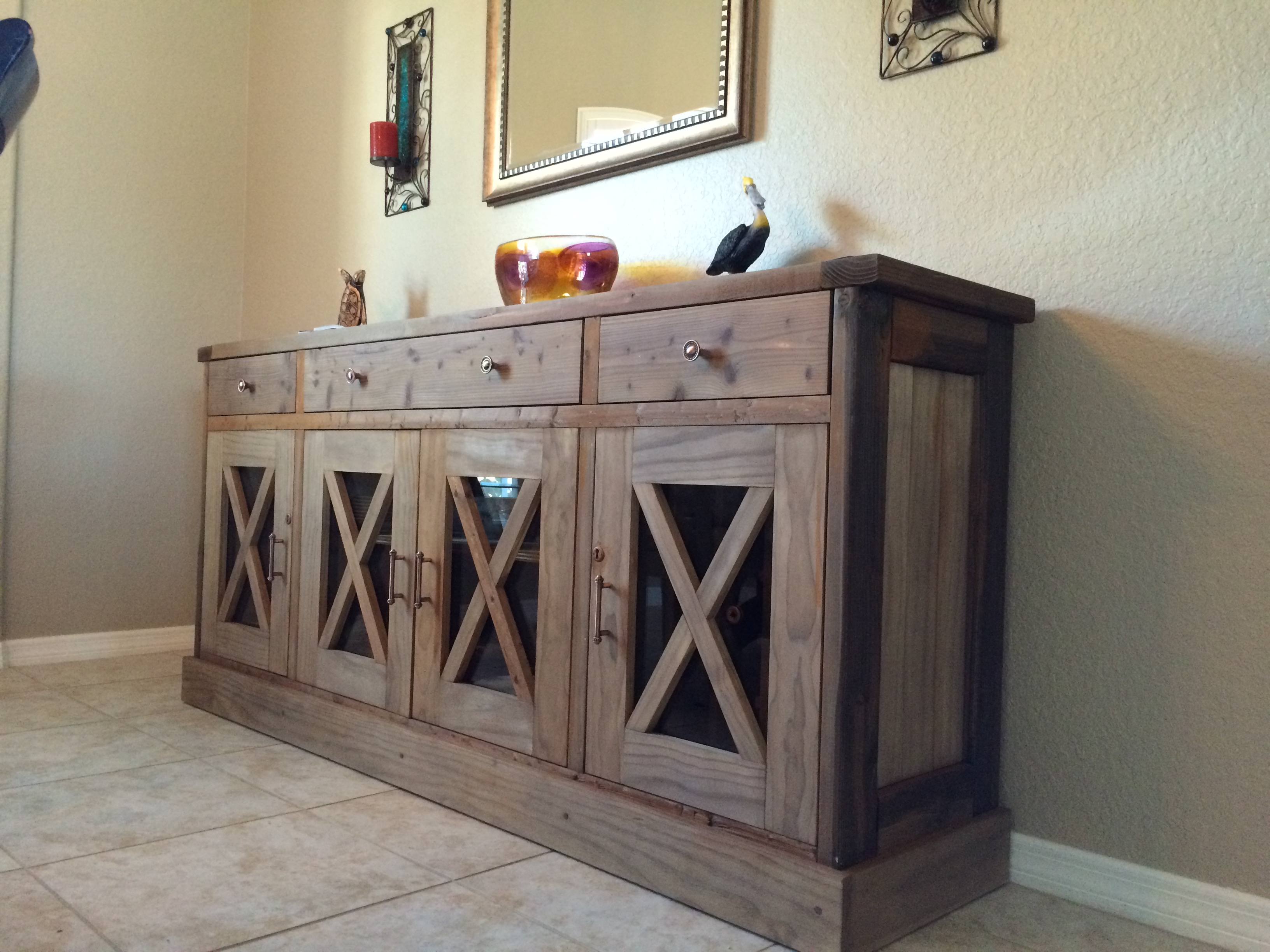 Ana white dining room sideboard diy projects for Dining room buffet