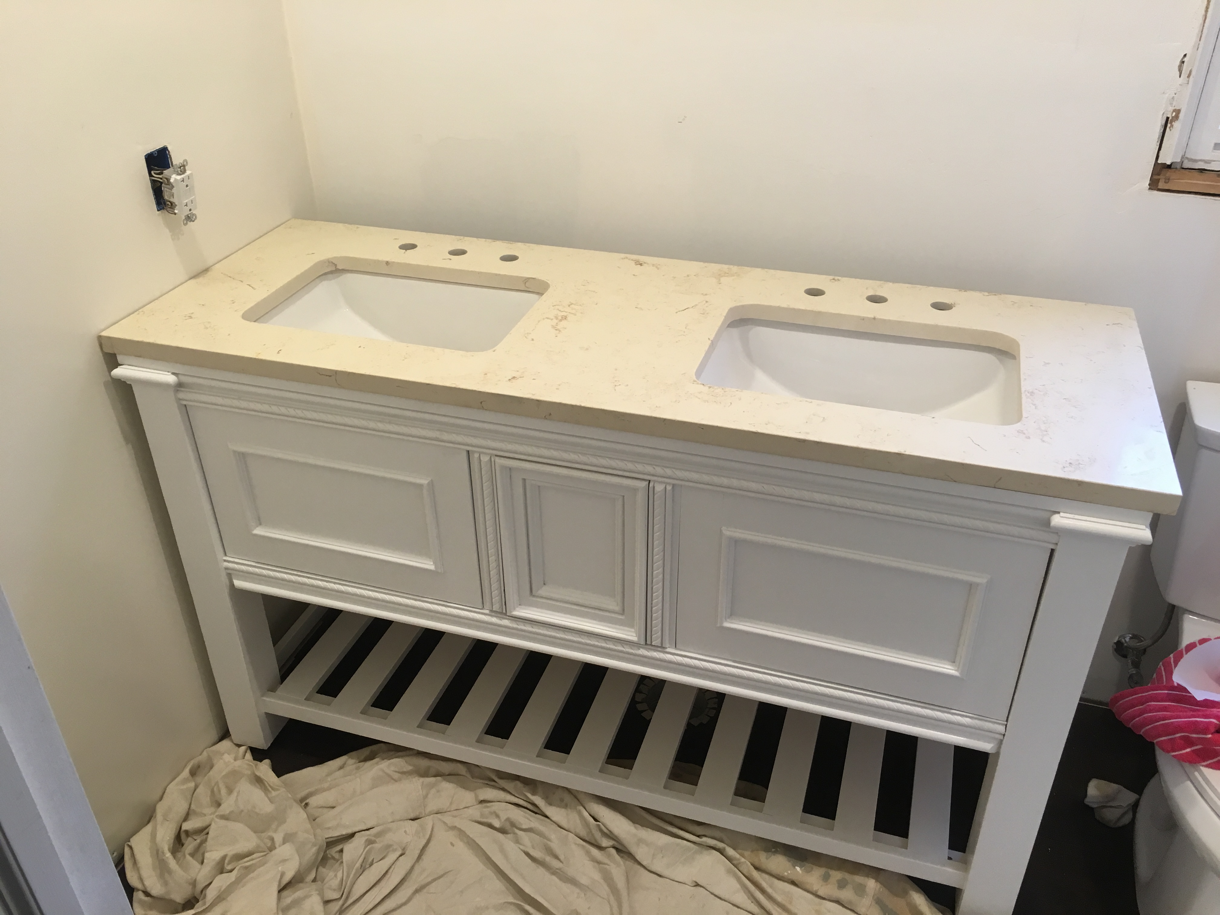 Ana White Double Vanity Diy Projects