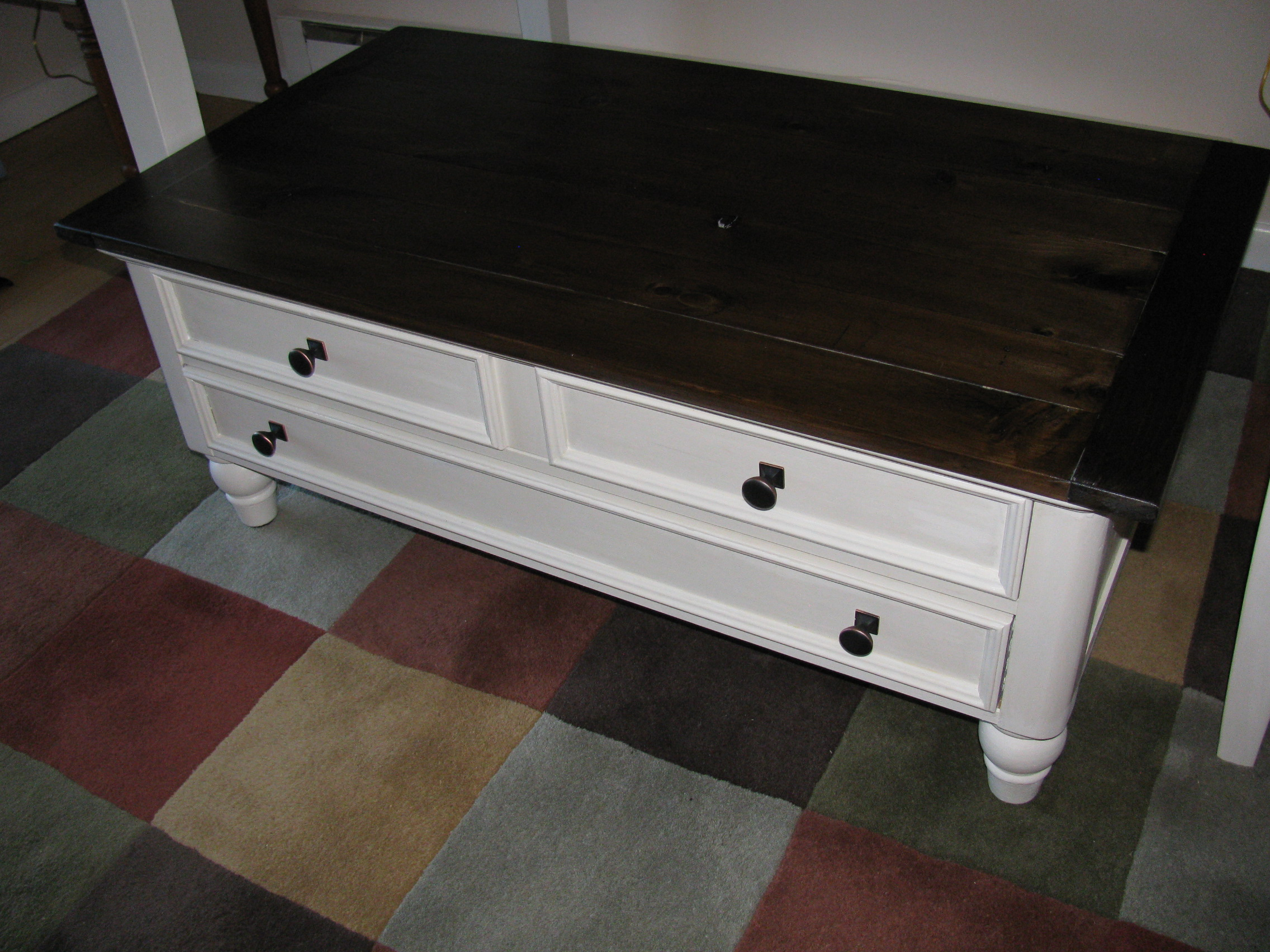 Coffee And End Table Rebuild And Refinish Ana White