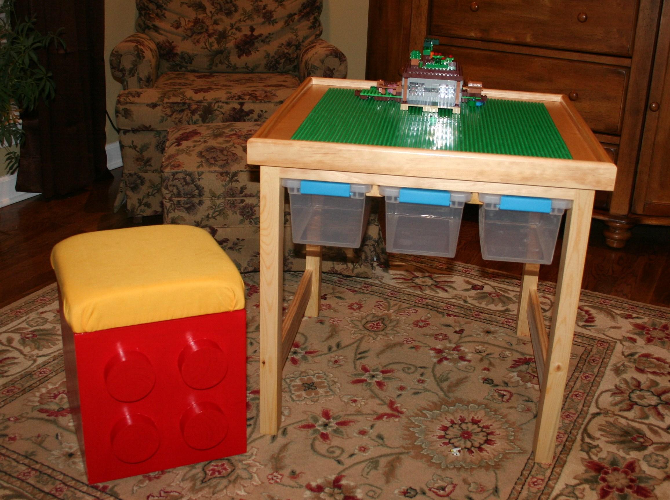 Lego Table Stool Ana White