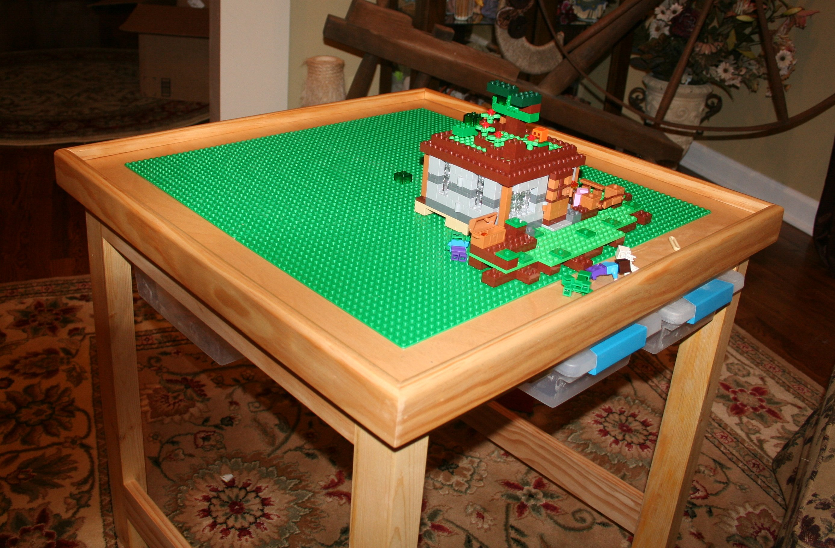Ana White Lego Table Stool Diy Projects