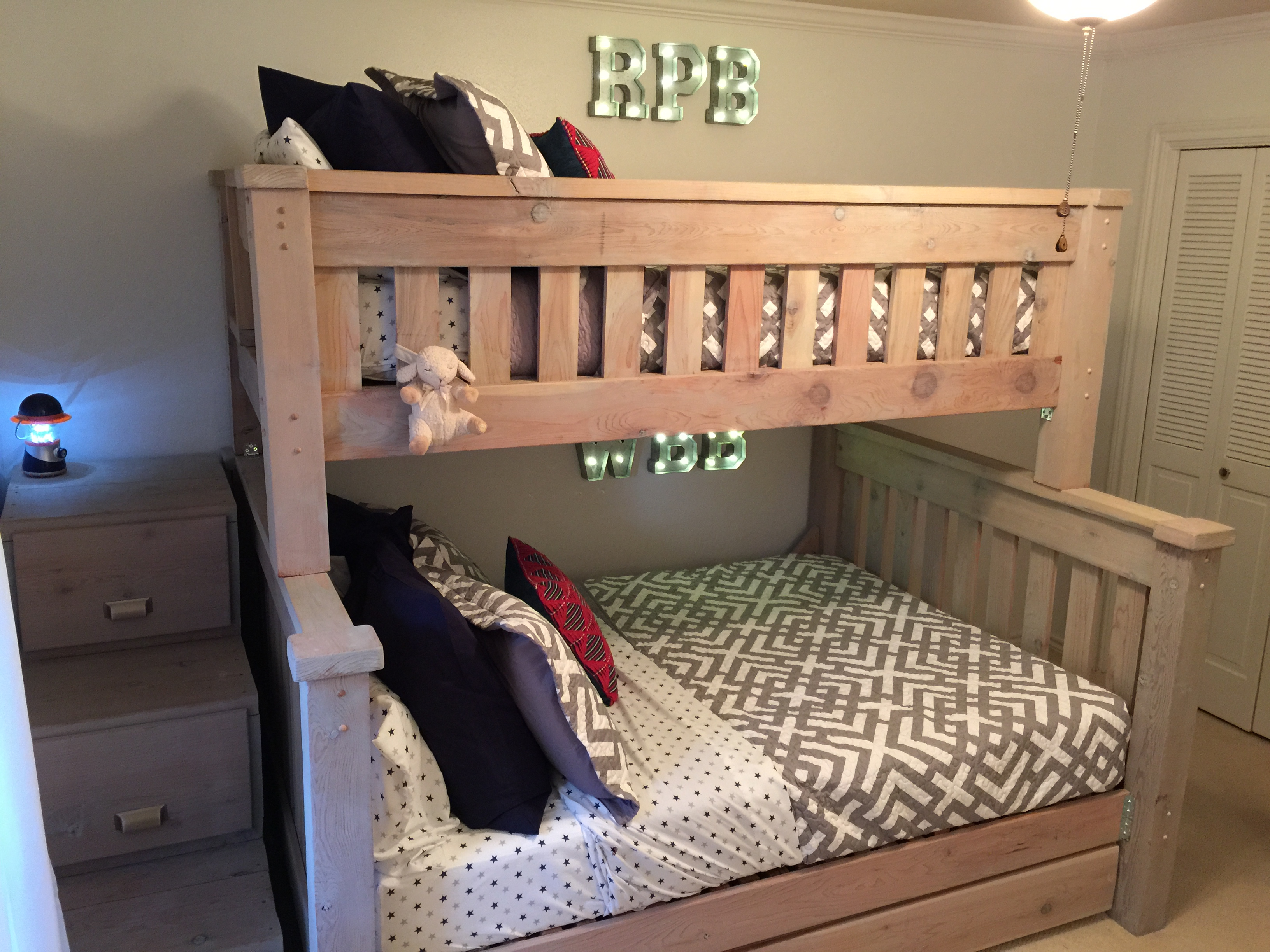 full kids twin leon starship zoom s cherry beds chocolate bed over item to hover product furniture bunk