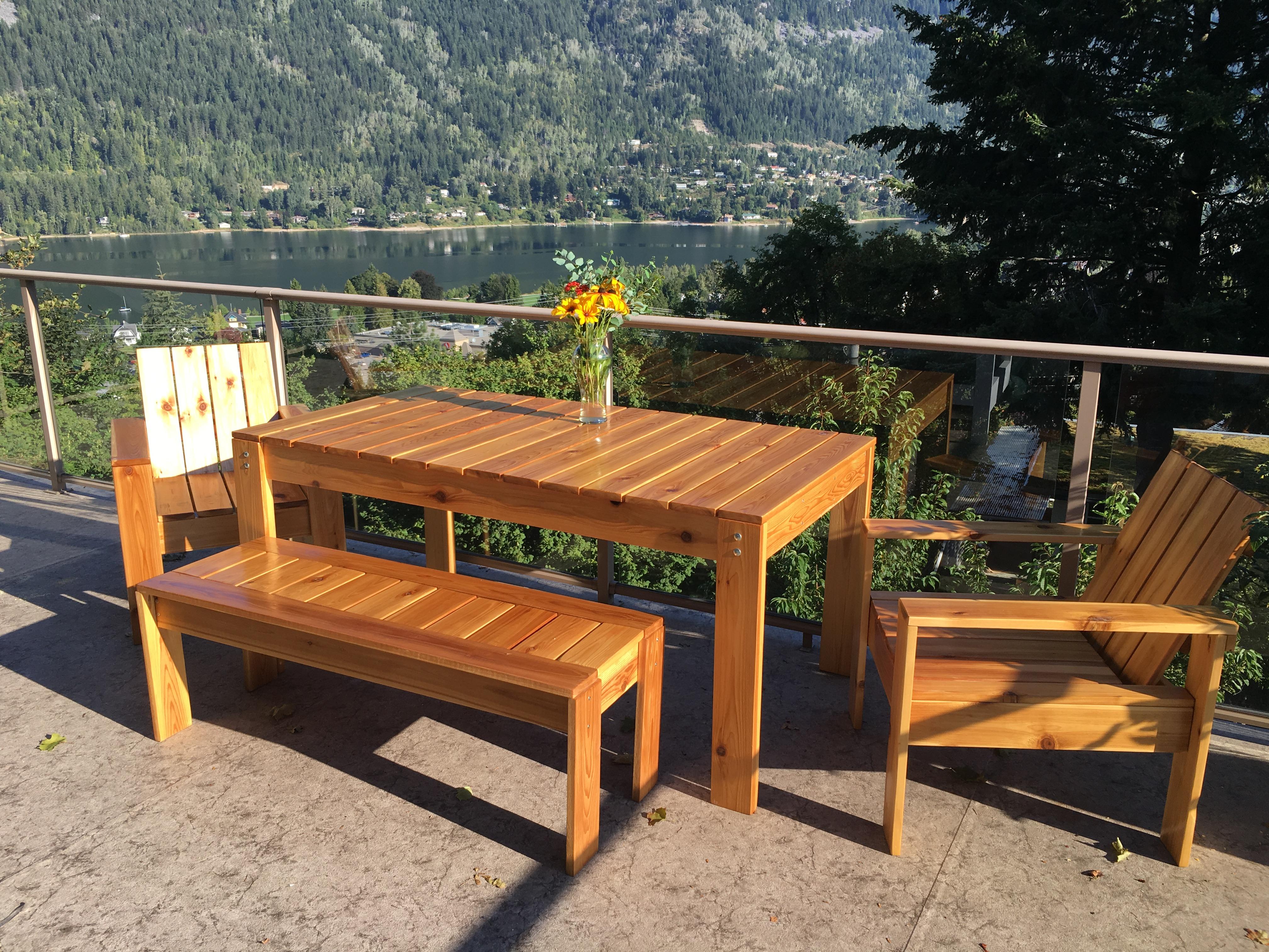 Plywood Floating Desk