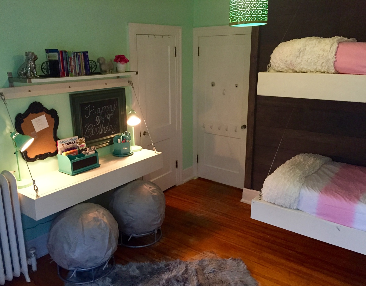 Diy Floating Bunk Beds Marcuscable Com