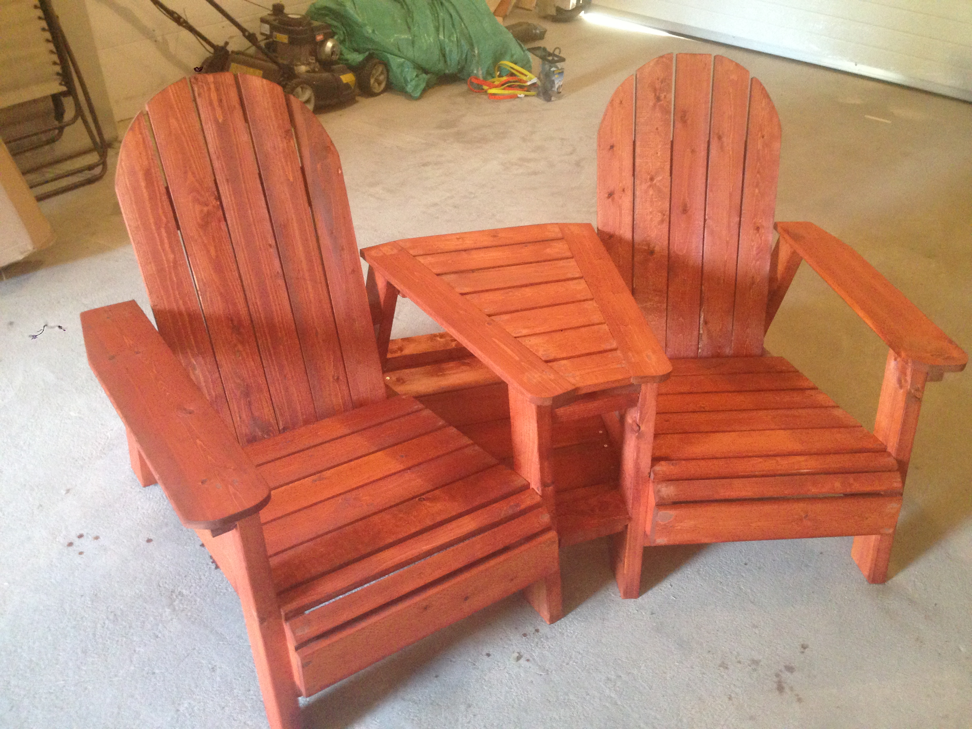 Picture of: Adirondack Chairs With Table Ana White