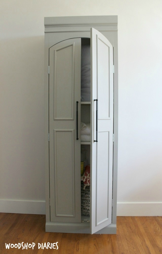 Diy Pantry Cabinet Ana White